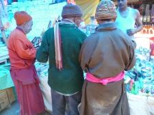 locals go shopping
